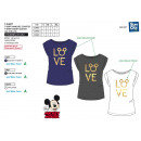 wholesale Licensed Products: Mickey - Short T-Shirt 100% coton