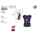 Minnie - Kurzes T-Shirt 100% Baumwolle