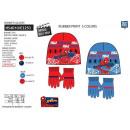 Spiderman - Set 2 Teile Hut & Handschuhe Multi