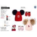 Minnie - 2-teiliges Set aus Mütze und Multihandsch