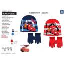 Cars - set 2 pezzi cappello e guanti multi