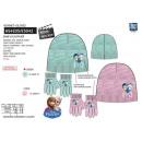 frozen - set 2 piezas sombrero y guantes multi