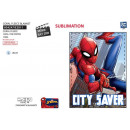 SPIDERMAN - plaid coral 90x120cm 100% polyester
