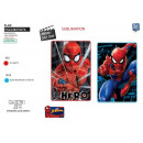 wholesale Bed sheets and blankets: Spiderman - plaid 100x150cm fleece 100% polyester