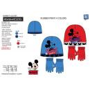 Mickey - set 2 pezzi cappello e guanti multi