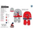 LADY BUG - set 2 pièces bonnet & gants multi