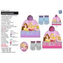 Princess - set 2 piezas sombrero y guantes multi