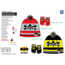 Batman - 2-piece set hat & multi gloves