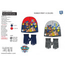 wholesale Licensed Products: Paw Patrol - 2-piece set hat & multi gloves
