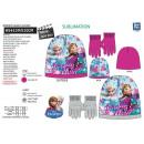 frozen - Set 2 Stück Hut & Handschuhe Multi