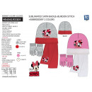 Minnie - 3-piece set scarf & gloves & hat
