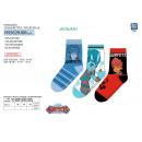 GORMITI - pack 3 socks 70% cotton 18% polyes