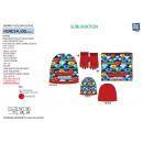 Großhandel Handschuhe: GORMITI - Set 3tlg. Mütze & Kragen & Hands