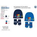 GORMITI - set 2 pezzi cappello e guanti 100%