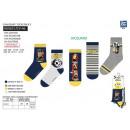 Minions - Packung mit 5 Socken aus 70% Baumwolle u