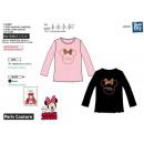 Minnie - T-Shirt Langarm 100% Baumwolle