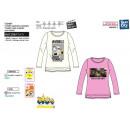 Minions - - T-Shirt Langarm 100% Baumwolle