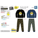 Minions - 100% korallenroter Pyjama Polyester