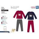 HARRY POTTER - langer Schlafanzug 75% Baumwolle /