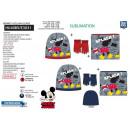 Mickey - Set 3tlg. Hut & Kragen & Mul-Hand