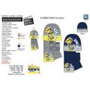 Minions - 3-teiliges Set Schal & Handschuhe &a