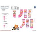 groothandel Kleding & Fashion: 44 CATS - pak 3 sokken 70% katoen 18% polyes
