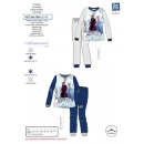grossiste Articles sous Licence: FROZEN - pyjama long polaire 100% polyester