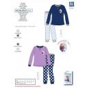 Großhandel Lizenzartikel: frozen - langer Pyjama in 100% Box Polyester