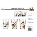 groothandel Figuren & beelden: Rabbids - 32,5cl glas 3 delen