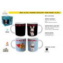 THE LAPINS CRETINS - 32.5cl mug changes color
