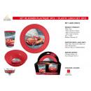 grossiste Articles sous Licence: CARS - set dejeuner plastique 3 pièces