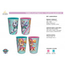 Paw Patrol -  plastic glasses 4 pieces