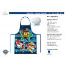 wholesale Houshold & Kitchen: Paw Patrol -  child's apron + toque