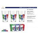 wholesale Home & Living: PYJAMASQUES - glass 23,7cl 3 pieces