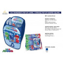 wholesale Licensed Products: PYJAMASQUES - pop up square storage bag
