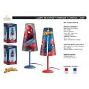 groothandel Kindermeubilair: Spiderman - conische nachtlamp
