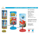 Super Wings - Cylinder lampa nocna