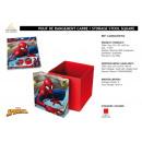 Spiderman - szögletes tároló ottomán