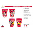 Großhandel Bilder & Rahmen: Minnie - 4 Stück Kunststoffglas