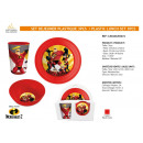 INDESTRUCTIBLES - 3 piece plastic lunch set