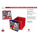 Mickey - négyzet tároló pouf