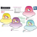HELLO KITTY - chapeau 100% coton