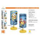 grossiste Lampes: MINIONS - lampe de chevet cylindre