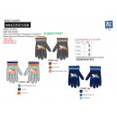 Planes - multi composition gloves