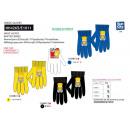 SIMPSON - multi composition gloves