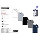 NEW MAN UW - T-Shirt manga T-Shirt cuello v 95