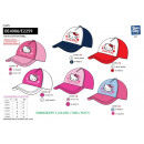 HELLO KITTY - casquette 100% coton