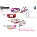 Hello Kitty - banda para la cabeza 93% algodón / 7