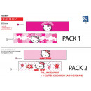 Hello Kitty - 93% Baumwolle / 7% Elasthan-Stirnban