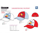 wholesale Licensed Products: WINNIE -  sublimated 100% coton cap